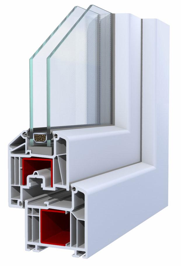 pvc okno inoutic pvc profili za pvc okna. Black Bedroom Furniture Sets. Home Design Ideas
